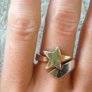 James Avery Shooting Star Ring Sz 7